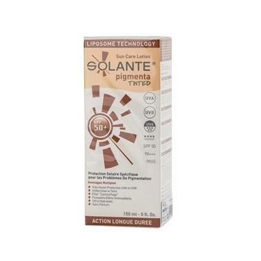 Solante SOLANTE Pigmenta Tinted SPF 50+ Losyon 150 ml Renksiz